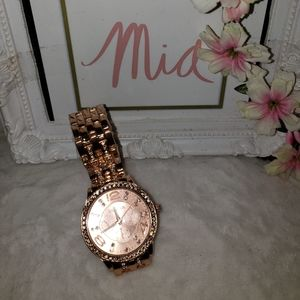 NEW ROSE GOLD WATCH